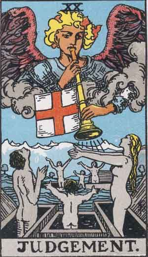 The Last Judgment tarot card